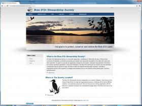 The Bras dOr Stewardship Society